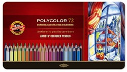 KOH-I-NOOR Polycolor kleurpotloden 72 st