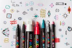 Posca markers