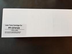 TONERCARTRIDGE COMPATIBLE CF-412X  GEEL 5.5K STUK/1