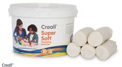 CREALL SUPERSOFT BOETSEERKLEI WIT EMMER 1750 GRAM