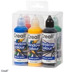 CREALL GLASS SET 6 FLACONS 80 ML