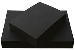 Tekenpapier zwart 120 grams